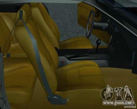 Chevrolet Camaro 1992 für GTA San Andreas zurück linke Ansicht