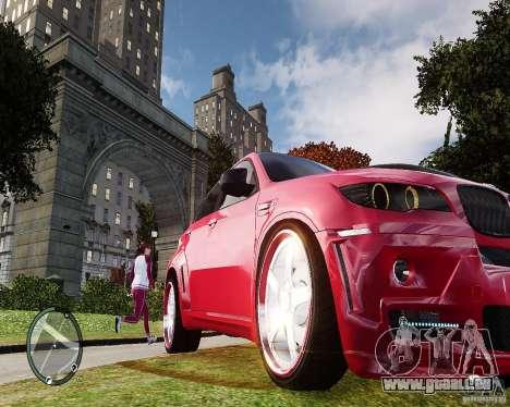 BMW X6M Lumma pour GTA 4 est une gauche