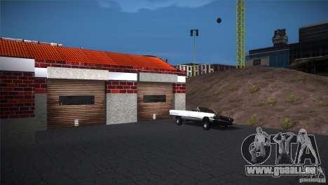 San Fierro Upgrade pour GTA San Andreas troisième écran