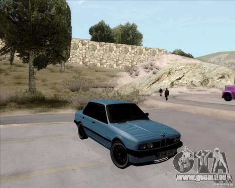 BMW M3 E30 323i street pour GTA San Andreas vue de droite