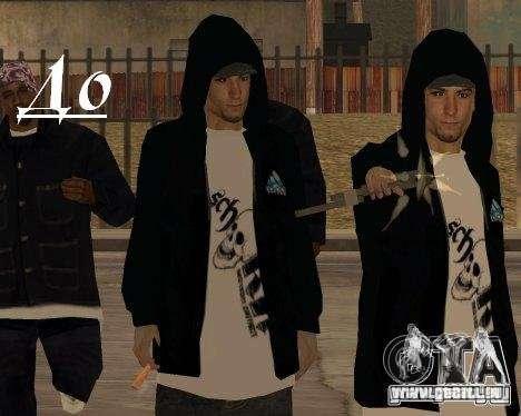 Vêtements avec Victor Coem pour GTA San Andreas