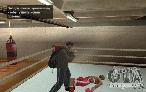 Das System kämpft von GTA IV V 3.0 für GTA San Andreas her Screenshot