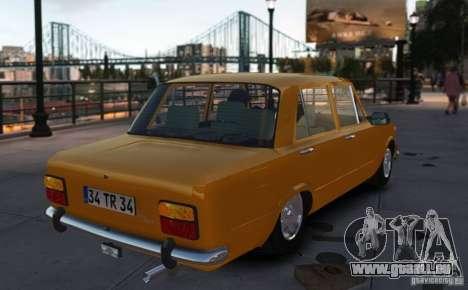 Fiat 124 pour GTA 4 est une gauche