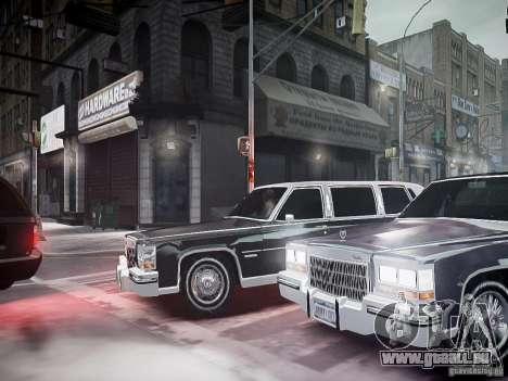 Cadillac Fleetwood 1985 für GTA 4 Seitenansicht