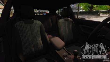 BMW M135i 2013 für GTA 4 Innenansicht