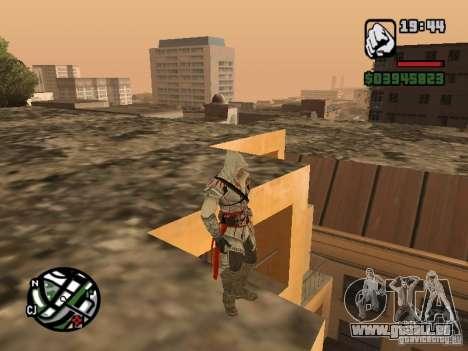 Ezio auditore de Firenze pour GTA San Andreas troisième écran