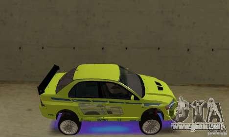 Amélioration des néons bleus pour GTA San Andreas deuxième écran
