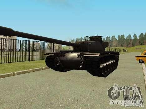 T-110E5 pour GTA San Andreas vue arrière