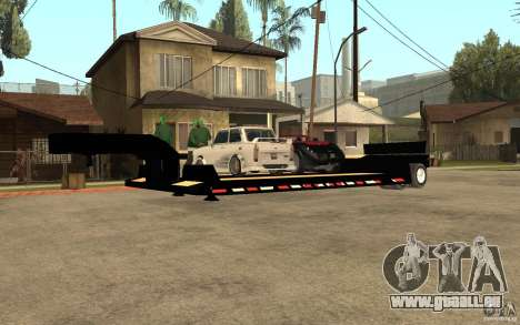 Trailer lowboy transport für GTA San Andreas