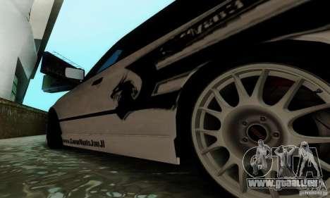 BMW E34 540i Tunable pour GTA San Andreas vue de dessus