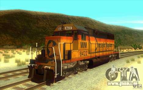 Chessie System sd40-2 für GTA San Andreas