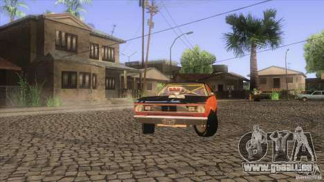 Plymouth Duster 440 für GTA San Andreas Innen
