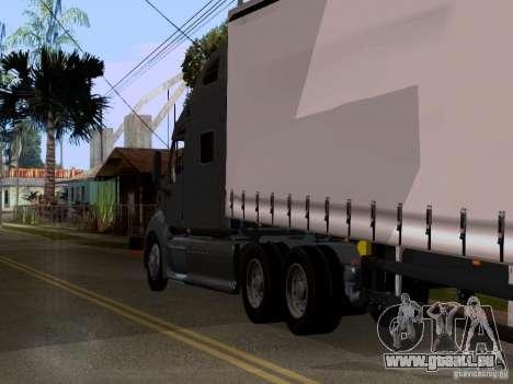Peterbilt 389 für GTA San Andreas Rückansicht