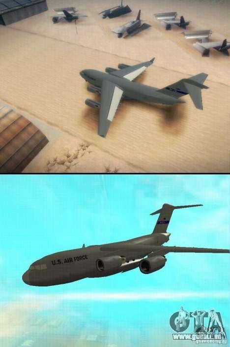 C-17 Globemaster pour GTA San Andreas