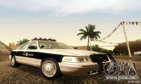 Ford Crown Victoria New Corolina Police pour GTA San Andreas