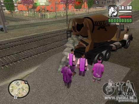 Chement pour GTA San Andreas deuxième écran