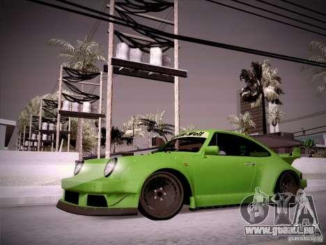 Porsche 911 Turbo RWB Pandora One für GTA San Andreas linke Ansicht