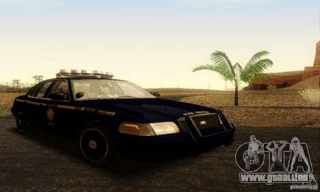 Ford Crown Victoria Nevada Police für GTA San Andreas