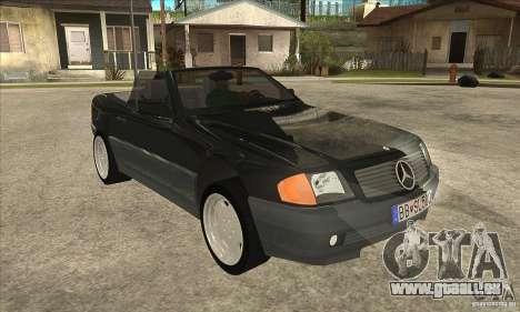 Mercedes SL-class 1995 pour GTA San Andreas vue arrière