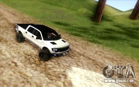 Ford F-150 Carryer Metal Mulisha für GTA San Andreas rechten Ansicht