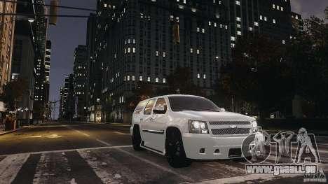 Chevrolet Tahoe tuning pour GTA 4