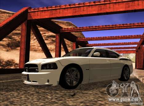 Dodge Charger R/T Daytona für GTA San Andreas Seitenansicht