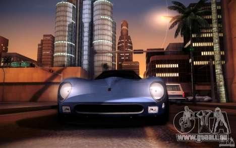 Ferrari 250 GTO 1964 pour GTA San Andreas vue arrière