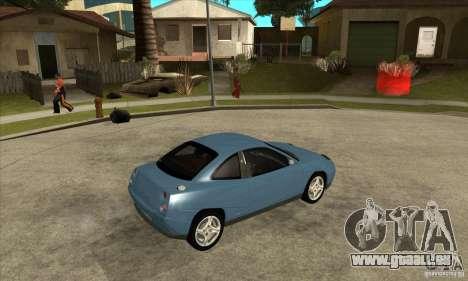 Fiat Coupe - Stock pour GTA San Andreas vue de droite