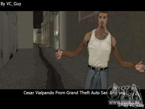 SA Characters pour GTA Vice City le sixième écran
