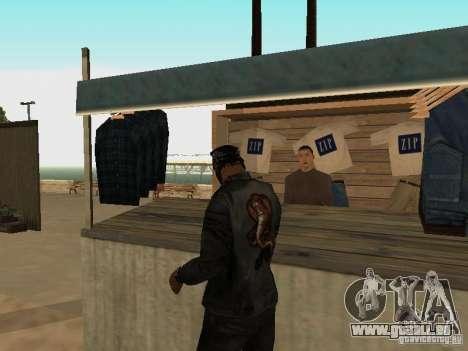 Marché sur la plage pour GTA San Andreas douzième écran