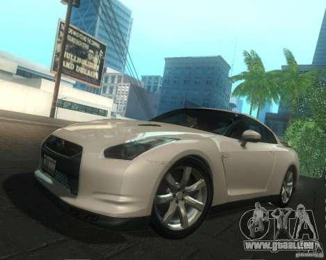 Nissan GTR R35 Spec-V 2010 Stock Wheels pour GTA San Andreas moteur