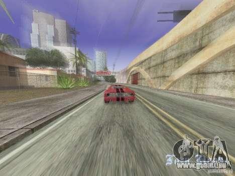 Bullet HQ pour GTA San Andreas vue de droite