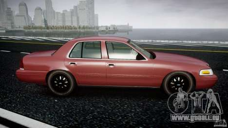 Ford Crown Victoria 2003 v.2 Civil für GTA 4 Innenansicht