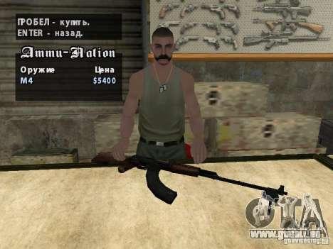 DIE PKK für GTA San Andreas sechsten Screenshot