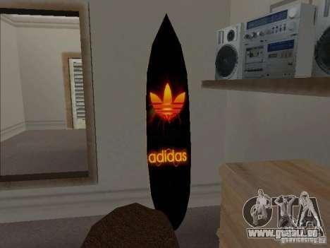 Neue Surf im Haus CJ für GTA San Andreas