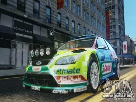 Ford Focus RS WRC für GTA 4 obere Ansicht