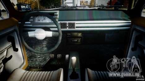 Fiat 126p 1976 pour GTA 4 est un droit