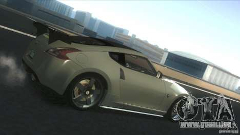 Nissan 370Z Drift 2009 V1.0 pour GTA San Andreas laissé vue
