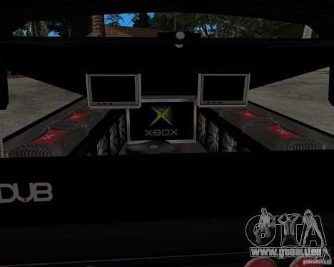 Chevrolet Silverado 1996 Lowrider für GTA San Andreas rechten Ansicht