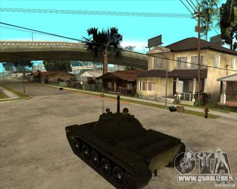 T-55 pour GTA San Andreas laissé vue