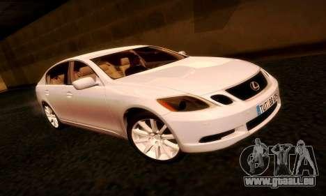Lexus GS430 pour GTA San Andreas