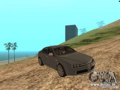 Alfa Romeo 159Ti pour GTA San Andreas vue intérieure