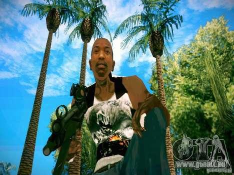 Armes Pack HD pour GTA San Andreas huitième écran