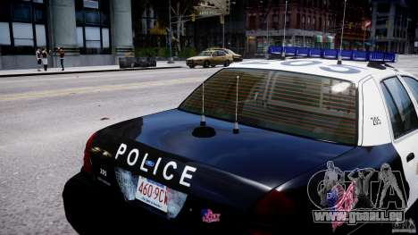 Ford Crown Victoria Massachusetts Police [ELS] pour GTA 4