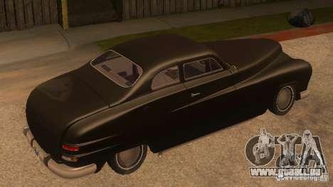 Hermes HD pour GTA San Andreas laissé vue
