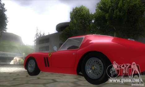 Ferrari 250 GTO 1962 für GTA San Andreas linke Ansicht