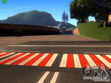 Roads Moscow pour GTA San Andreas cinquième écran