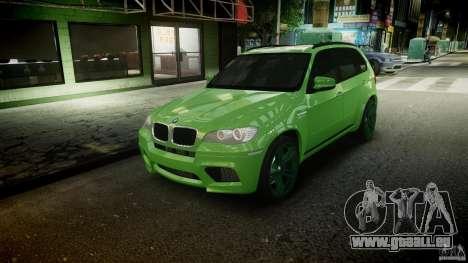 BMW X5 M-Power wheels V-spoke pour GTA 4 Salon