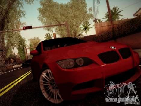 BMW E92 v2 Updated für GTA San Andreas linke Ansicht