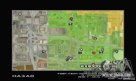 Boutique ADIDAS pour GTA San Andreas quatrième écran